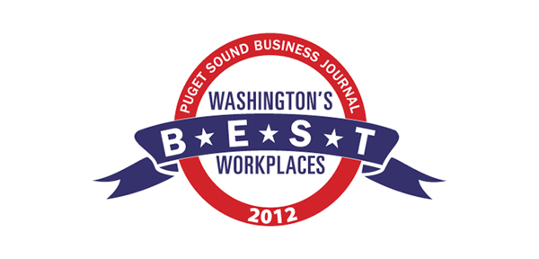 Puget Sound Business Journal Washington's Best Workplaces 2012