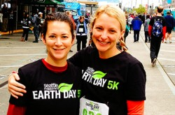 EarthDay5k_Megan Torres and Tanya Stockland