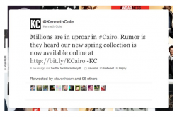 Kenneth Cole Tweet