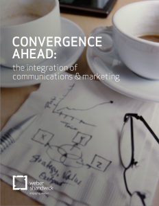 Convergence Ahead The Integration of Communications and Marketing