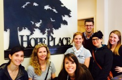 Weber Shandwick OnLoan Team at Hope Place