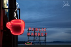 Seattle's Best Coffee, Pine Street, Seattle, Washington  http://www.seattlesbest.com/